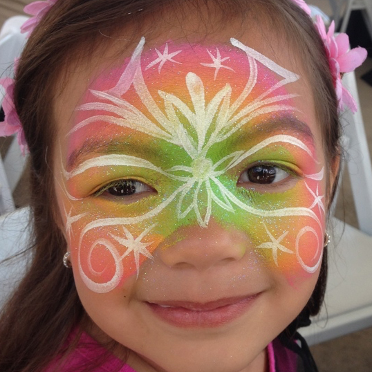 Fairy Face Painting Samples