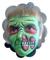 Monster Boy Face Painting Party